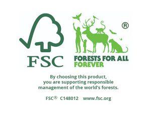Akcija medienai su FSC sertifikatu